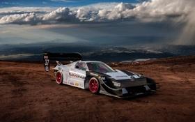 Обои япония, закат, rally, авто, nsx, суперкар, ралли