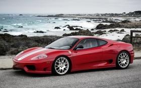 Обои Ferrari, суперкар, феррари, 360, Stradale, Challenge