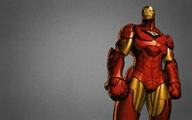 Обои сталь, броня, железный человек, marvel, комикс, iron man, старк