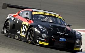 Обои Спорт, Ниссан, Машины, Nissan, GT-R, Race, Гонки
