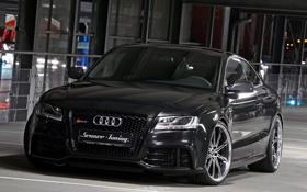 Обои Audi, black, RS5, tuning, senner