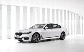 Обои бмв, BMW, Sport, 750Li, xDrive, 2015, G12