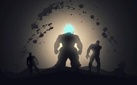 Картинка персонаж, они, Super Street Fighter 4, ССФ4