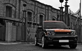 Обои kahn, range, front, rover, sport