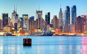 Картинка United States, New York City, New Jersey, Weehawken