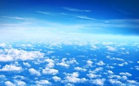 Обои фото, Небо, Природа, Пейзаж, Облока