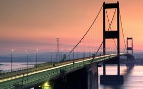 Обои мост, река, пейзажи