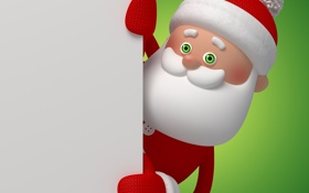 Картинка christmas, санта, новый год, new year, santa, santa claus, рождество