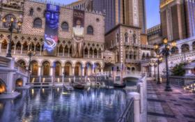 Обои Лас-Вегас, отель, казино, Las Vegas, hotel, The Venetian