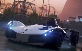 Обои Most Wanted, 2012, BAC Mono, Need for speed, game