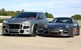 Обои тюнинг, 911, Porsche, порше, Cayenne, кайен, SpeedART