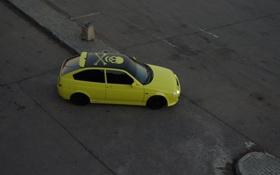 Обои car, тазик, lada