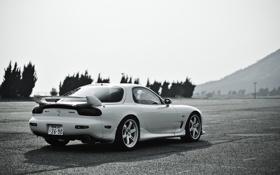 Обои Mazda, white, мазда, rx-7