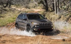 Обои внедорожник, 2013, Jeep, большой, Cherokee, джип, Trailhawk
