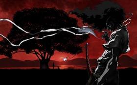 Обои меч, катана, Арфо, afro samyrai