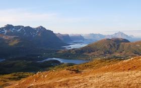 Обои архипелаг, Лофотен, Норвегигя