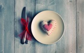Обои красный, фон, обои, настроения, сердце, клетка, тарелка