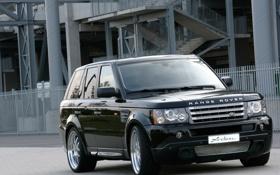 Обои чёрный, black, Sport, Rover, рендж ровер, Range, Arden