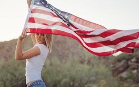 Картинка flag, Danielle, American Girl