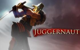 Обои картинка, дота 2, Juggernaut, dota 2, джагернаут