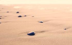 Обои песок, пляж, галька, берег