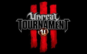 Обои logo, unreal, tournament