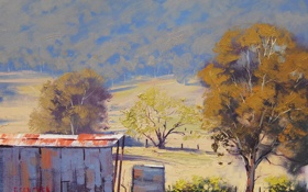 Обои рисунок, арт, artsaus, hartley shed