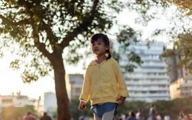 Картинка город, настроение, девочка, азиатка