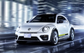 Картинка Concept, жук, Volkswagen, фольксваген, Beetle, R-Line, 2015