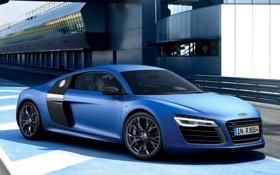 Обои Audi, Авто, Ауди, Синий, V10, Спорткар, Plusx