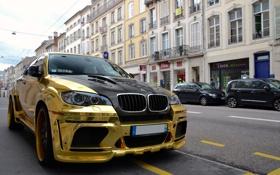 Обои золото, бмв, BMW, Hamann, tuning, Gold, Tycoon EVO M