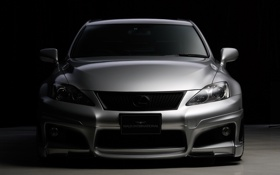 Картинка tuning, лексус, front, wald, lexus is-f