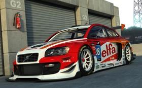Картинка volvo, c30, racing1