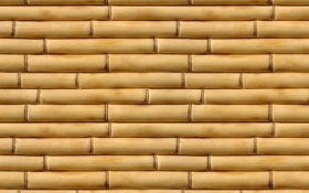 Обои yellow, pattern, bamboo