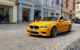 Картинка BMW, Yellow