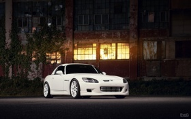 Картинка car, ночь, тюнинг, хонда, авто обои, honda s2000