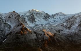Картинка зима, снег, пейзаж, горы, природа