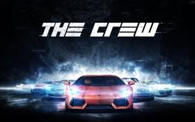 Обои машины, lamborghini, Chevrolet, the crew, тачки, Nissan, Porche