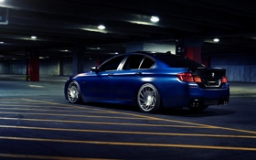 Картинка BMW, F10, Vossen, Wheels, Edition, Limited, Rear