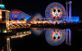 Обои City, USA, California, Disneyland, Anaheim