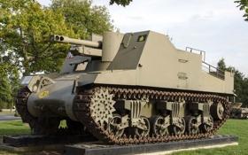 Картинка установка, самоходно-артиллерийская, класса, «Секстон», самоходных гаубиц, Sexton