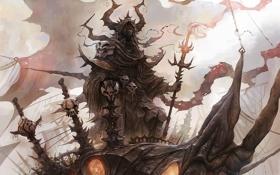 Обои Underworld, look, human form