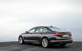 Картинка бмв, BMW, 750Li, xDrive, 2015, G12