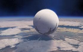 Картинка планета, ps3, xbox360, спаситель, Destiny, mmo, bungie