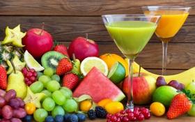 Картинка ягоды, сок, juice, фрукты, fresh, fruits