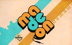 Обои logo, producer, музыка, French house, Hugo Pierre Leclercq, мадеон, Songwriter