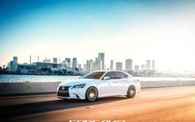 Картинка машина, авто, Lexus, оптика, auto, F-Sport, Wheels