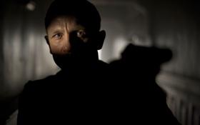 Картинка Daniel Craig, James Bond, Дэниэл Крэйг, Skyfall, 007 Координаты Скайфолл