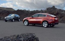 Обои обои, BMW X6, две, авто