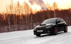 Обои Subaru, wrx, impreza, sti
